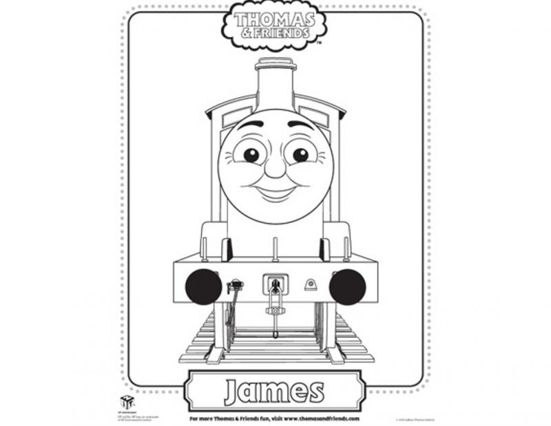 Thomas And Friends Be Happy Coloring For Kids Amp