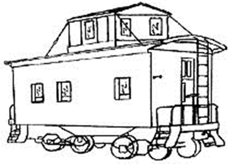 coloring pages of the boxcar children